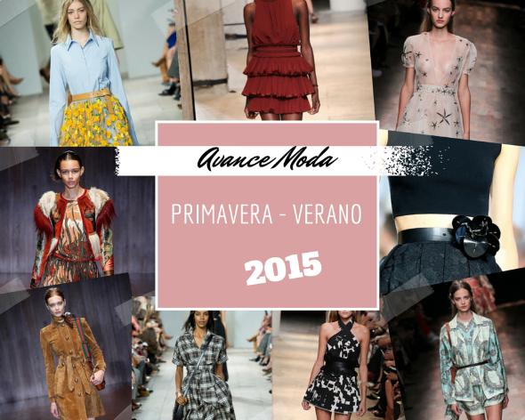 avance tendencias Moda Primavera Verano 2015