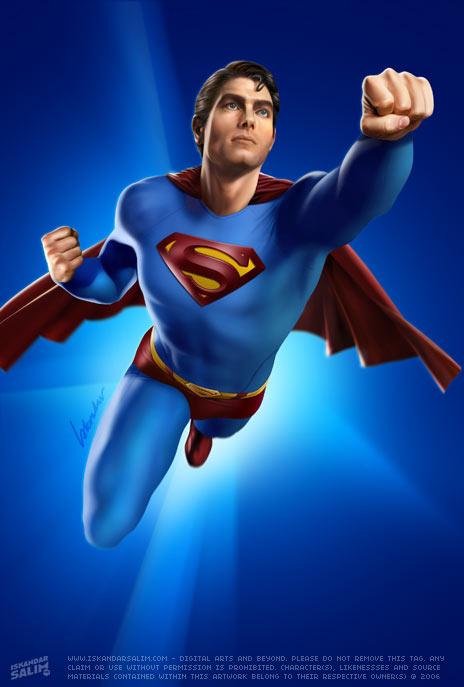koleksi gambar superman