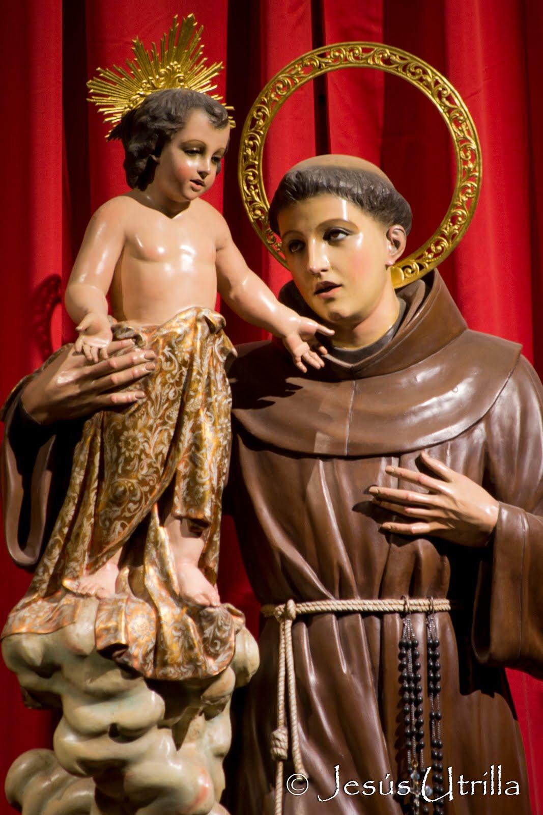 Cultos en honor de San Antonio de Padua
