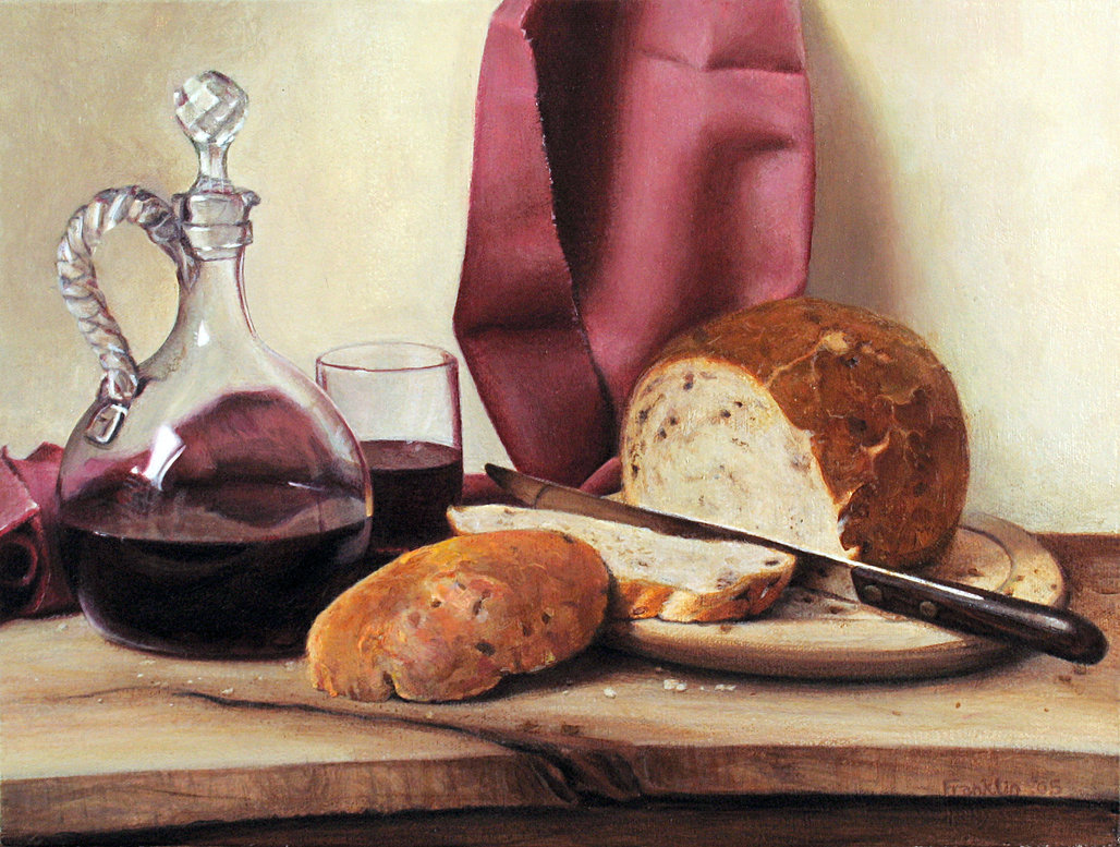 bread and wine Bread and wine is a collection of essays about family relationships, friendships, and the meals that bring us together written by well-loved writer and blogger, shauna niequist, this is a.