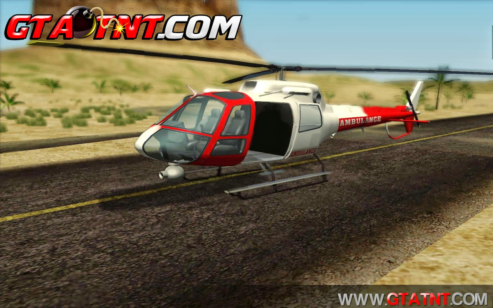 Air Ambulance Maverick Convertido do GTA V para GTA San Andreas
