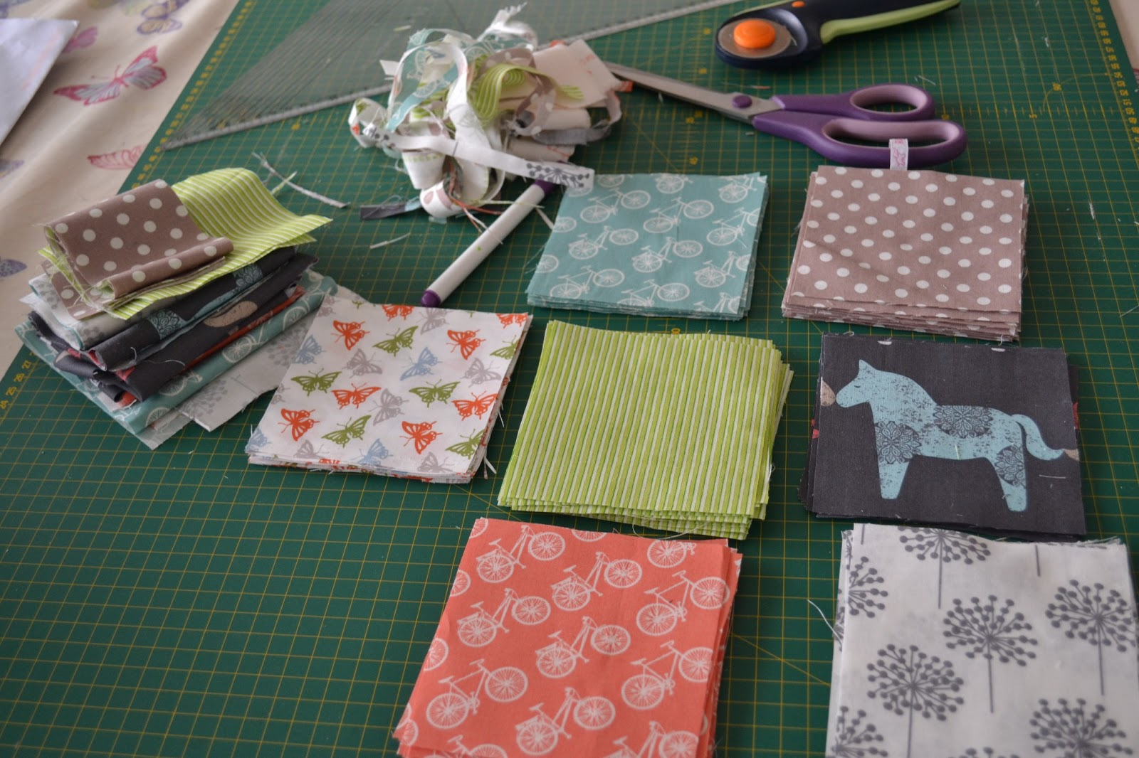 kitchen table sewing baby quilt update 1