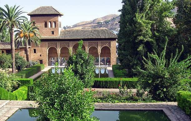 Tras las huellas de sherezade el jard n andalus 1 for Jardines alhambra