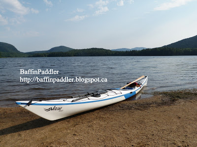 Baffinpaddler summer for Lac miroir mont tremblant