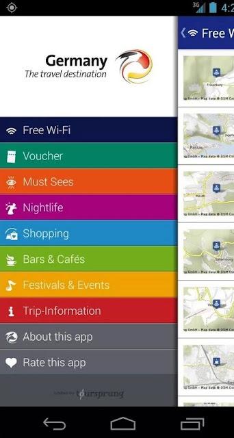 Pregled zanimljivih destinacija u Nemačkoj u okviru mobilne aplikacije