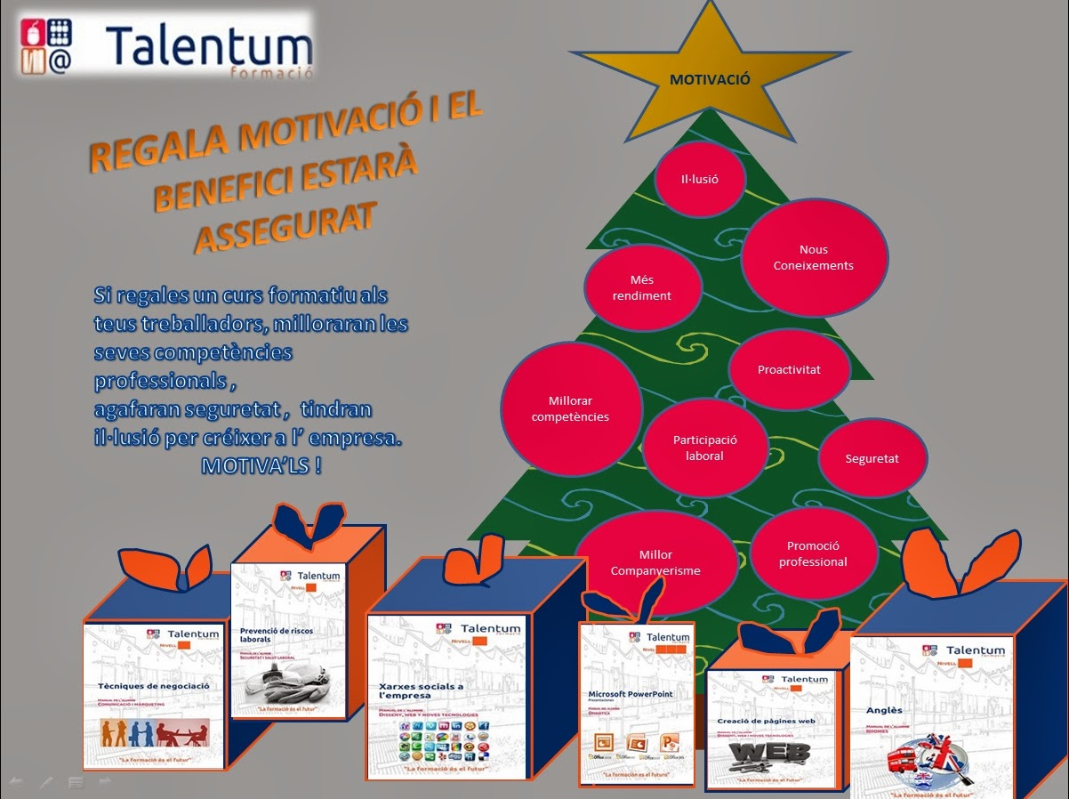 Talentum formaci 2013 for Oficina gestio empresarial