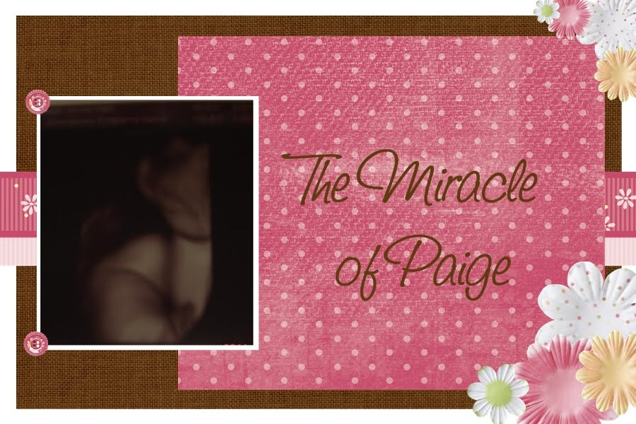 The Story of our Gift from God; Paige Miracle!