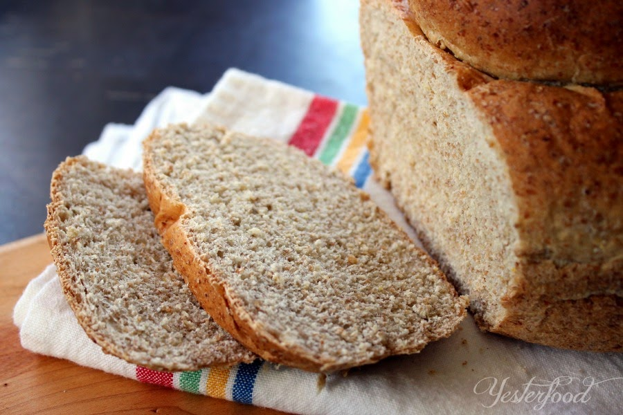 Yesterfood early american cottage loaf - Early american cuisine ...