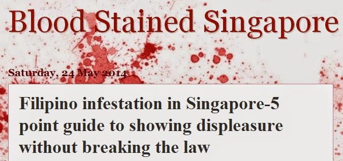 Anti Filipino Blog Singapore