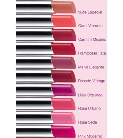 batom em gel Ultra Color Revolution da Avon com acabamento cremoso