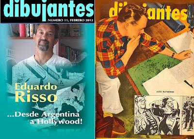 Osvaldo laino esta llegando dibujantes 11 for Revistas del espectaculo argentino