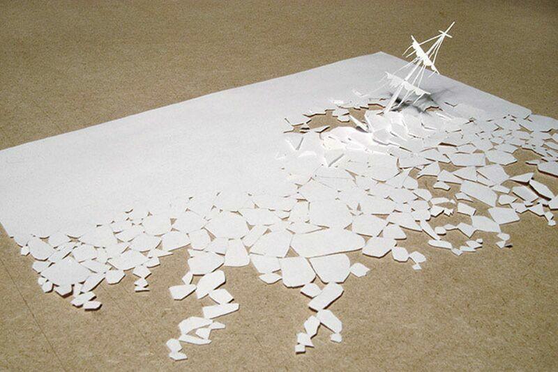 Выпуклая бумага как сделать