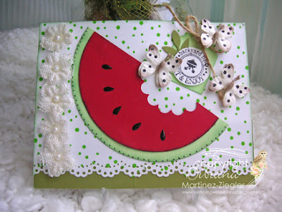 watermelon card front