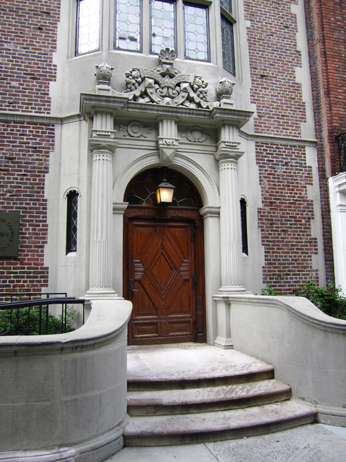 front door kick plateFront Doors on The Upper East Side  Made By Girl