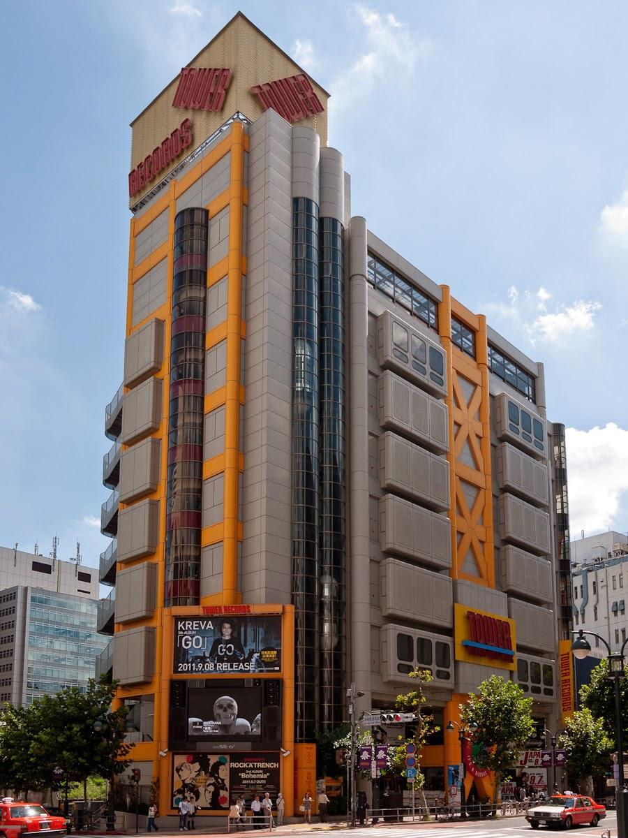 Pocket Hobby - www.pockethobby.com - #CulturalShock - Lojas de Música no Japão-Tower-Record-Shibuya-1
