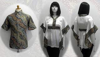 model baju batik yang kren