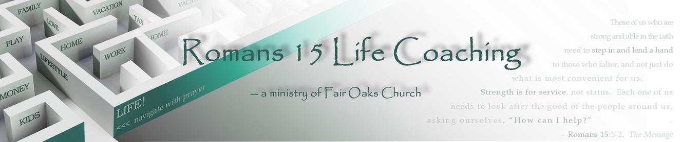 Romans 15 Life Coaching - LIFE Coach Yost