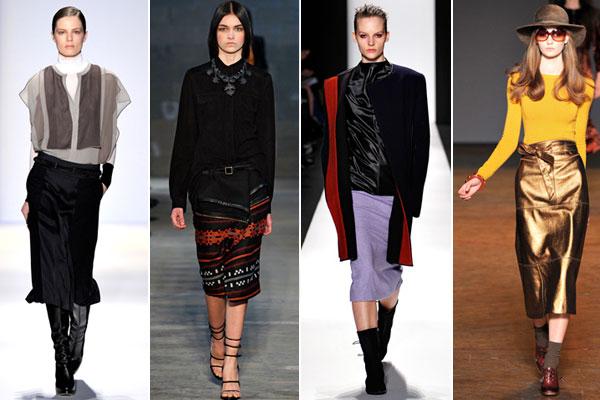 New york fashion week осень-зима 2011-2012: diesel black gold фото 14
