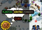 juego plantas contra zombies zuma