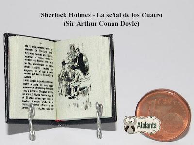 Miniature book Sherlock Holmes