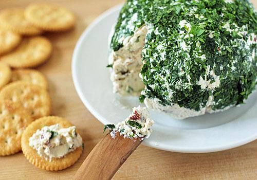 Parmesan Cheeseball - suggested by Lela