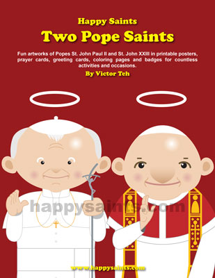 Happy Saints Popes St John Paul