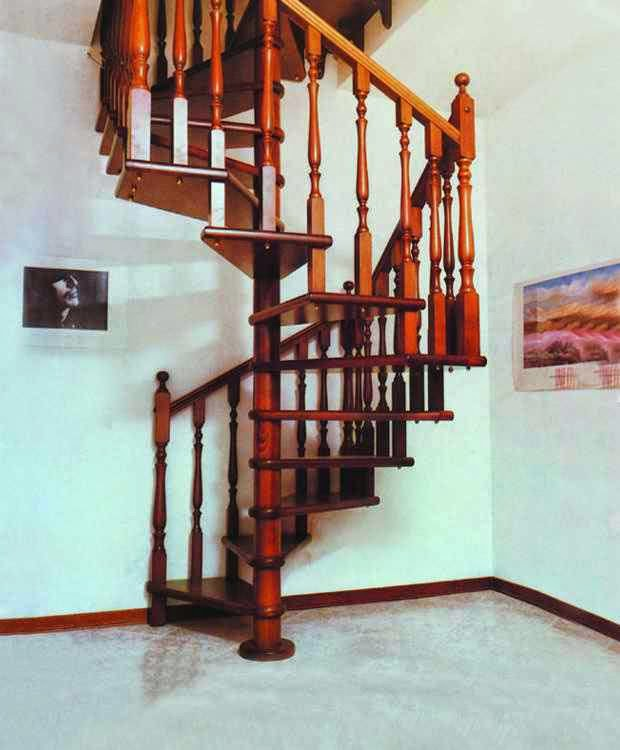 Staircase designs in Wood