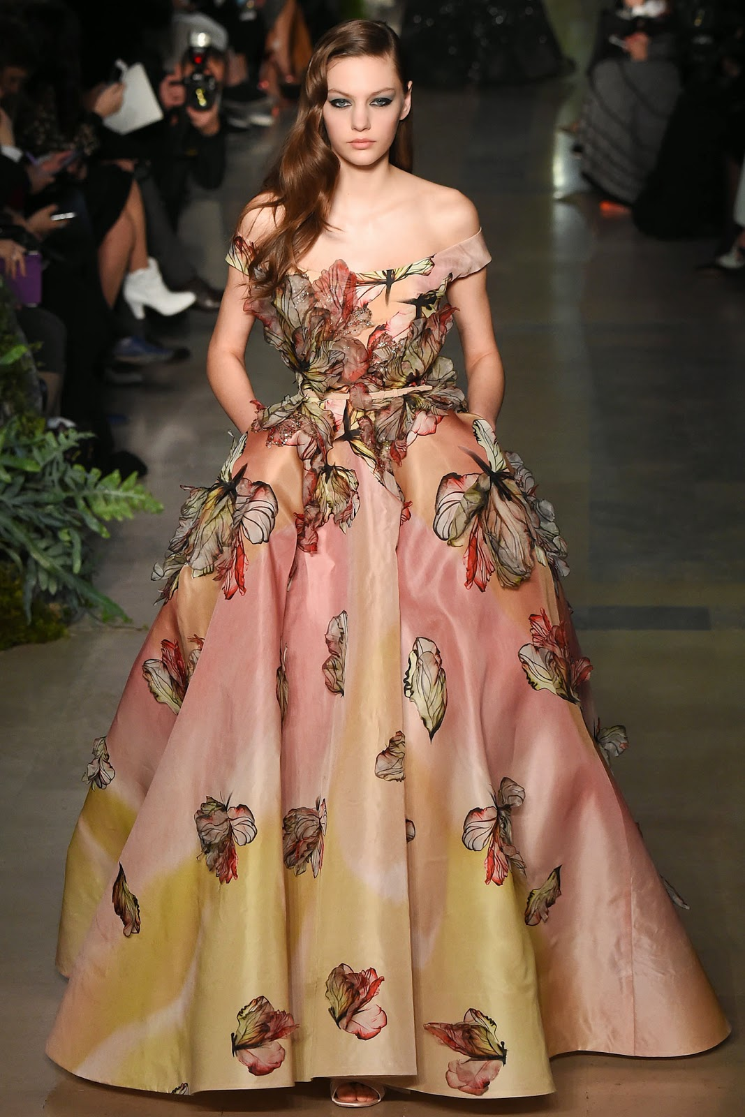 Runway report paris couture fashion week elie saab for Couture a paris