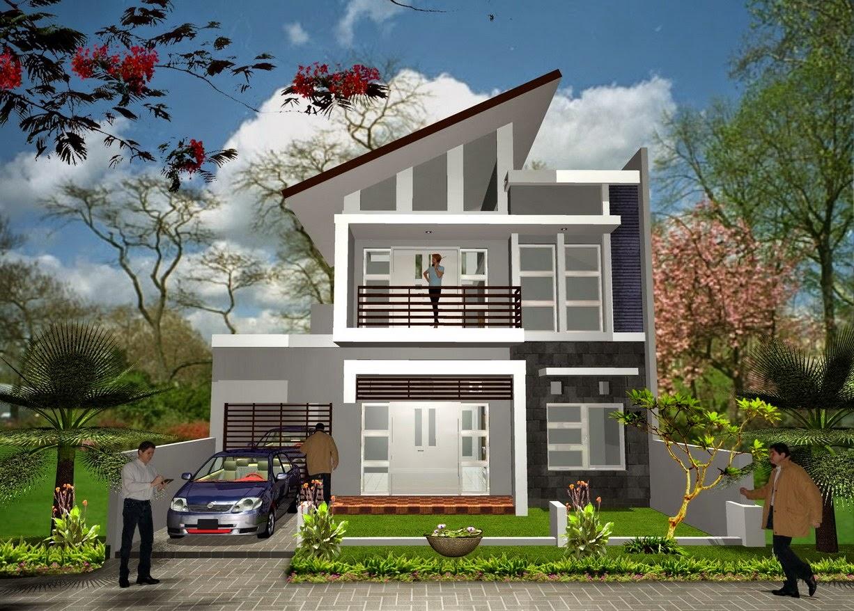 Desain Rumah Minimalis Type 70 2 Lantai