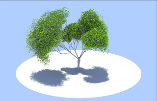 tree in softimage