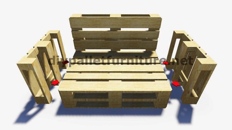muebles de palets paso a paso