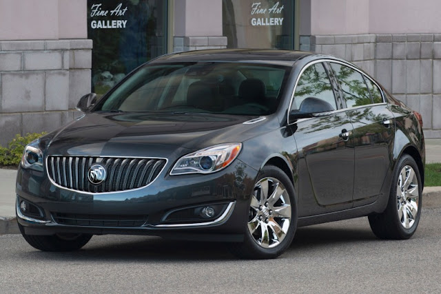 New 2015 Power Buick Regal Performance front eagle view