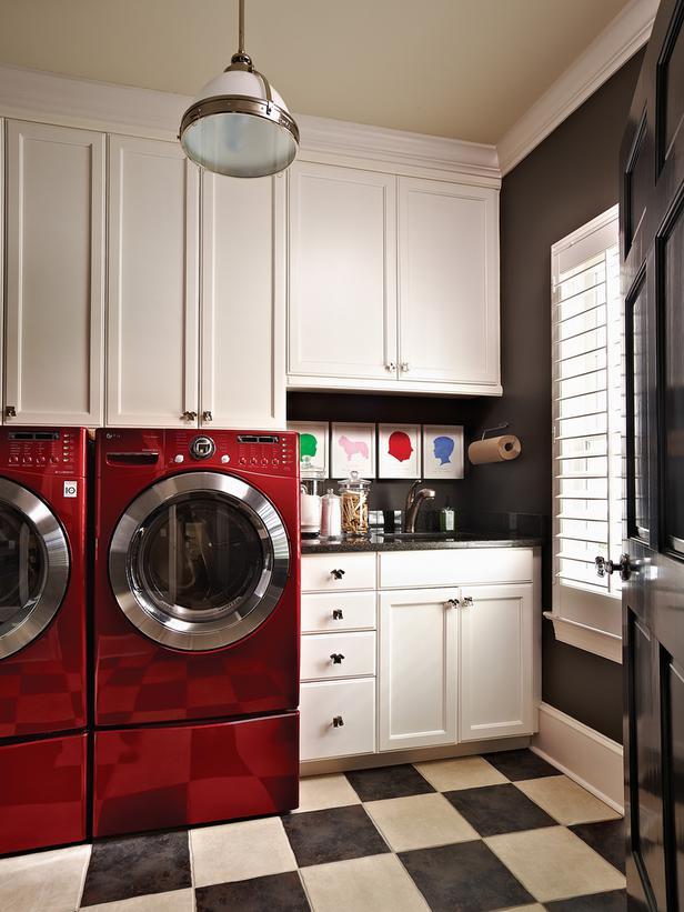 Diseñadora de Interiores: Inspiración para cuartos de lavado