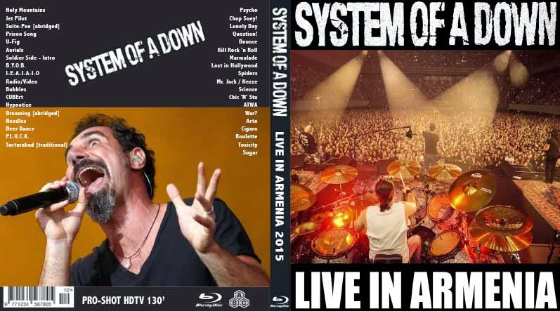 System of a Down – Live in Armenia (1080p) [2015] [BRRip 1080p] [Full Concert] [1 Link] [MEGA]