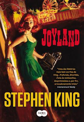 Capa brasileira do livro Joyland de Stephen King