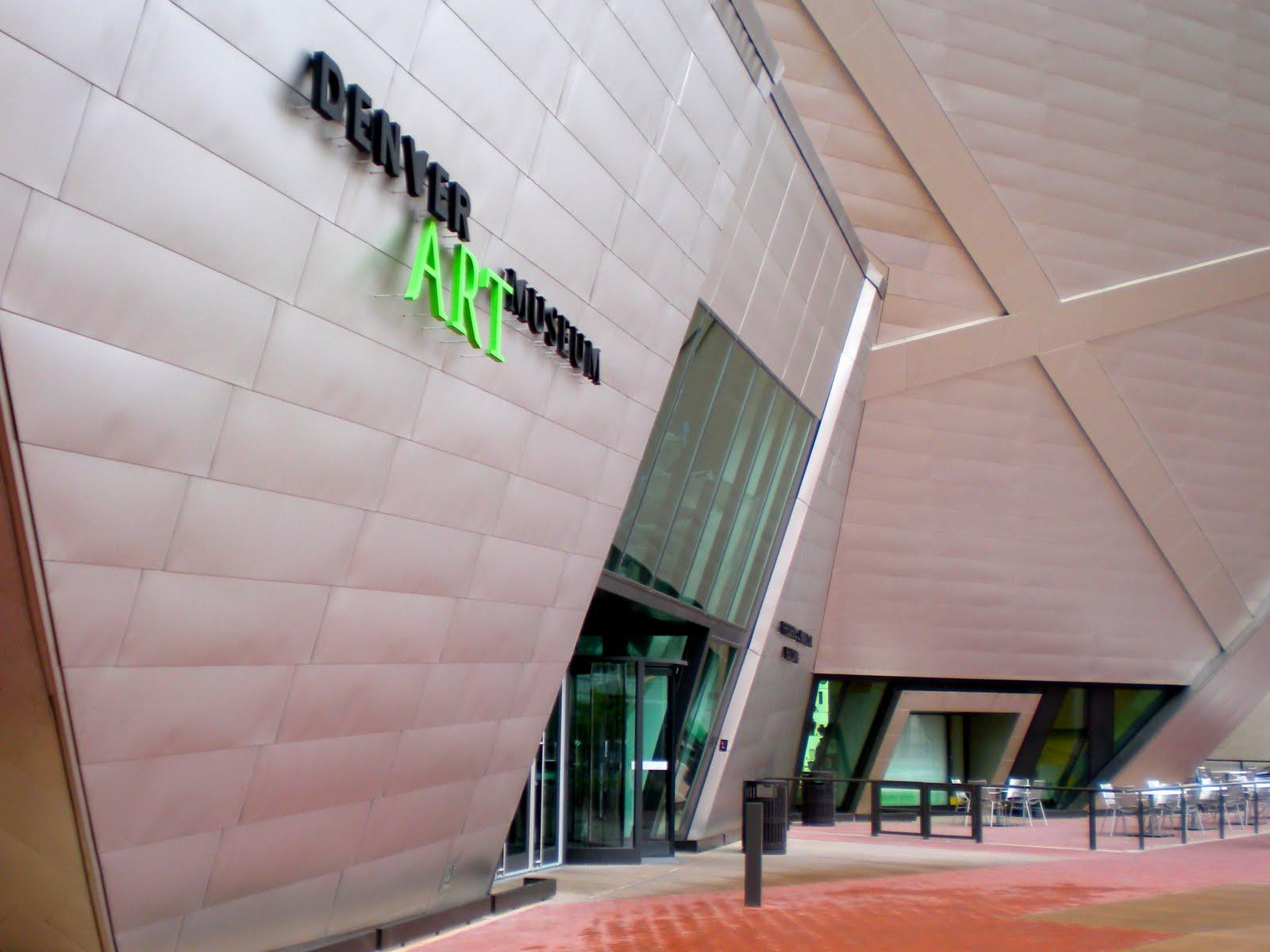 Cruisin 39 museums with jonette slabey denver art museum for Denver art museum concept