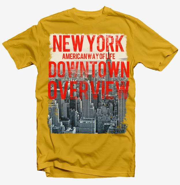 new york tshirt design