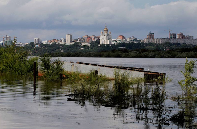 Реки амур для защиты от паводковых вод