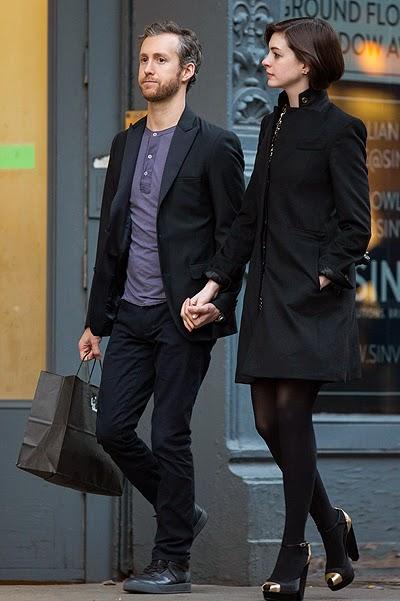 Anne Hathaway and Adam Shulman on shopping