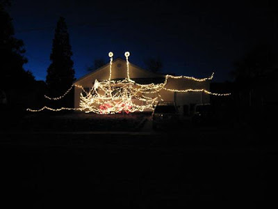 FSM in Christmas lights