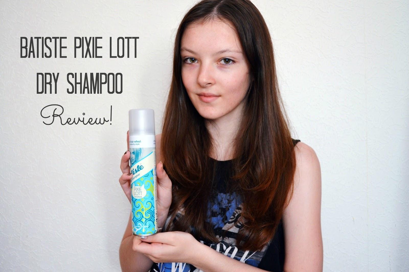 Batiste Pixie Lott Dry Shampoo Review