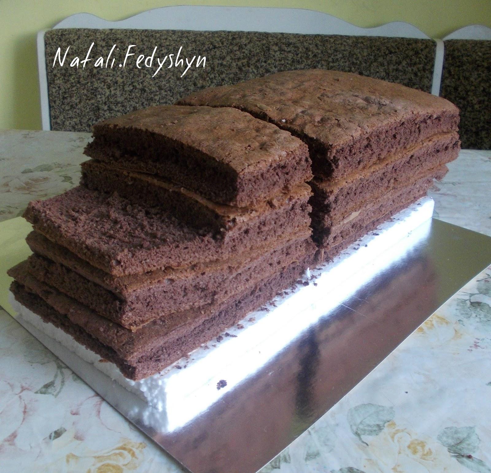 Торт фура пошагово