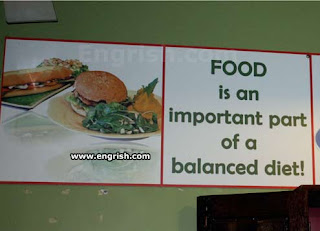 food is part of a balanced diet engrish funny