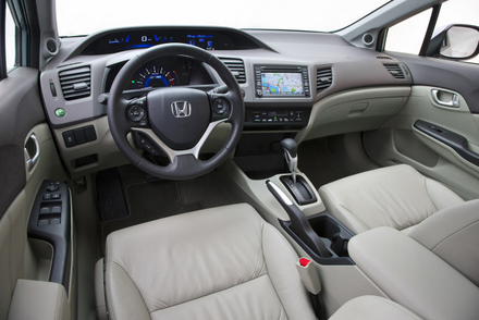 New Honda Civic 2012   Popular Automotive
