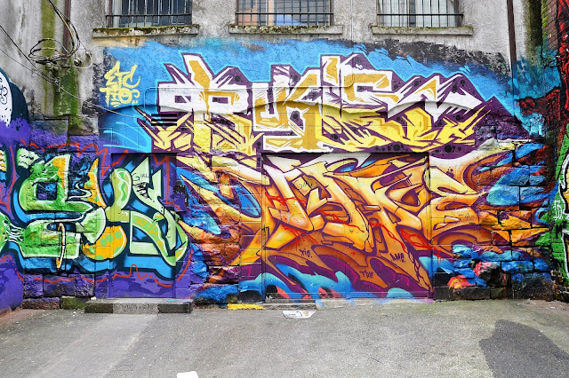 Graffiti Tagging in Vancouver, Canada