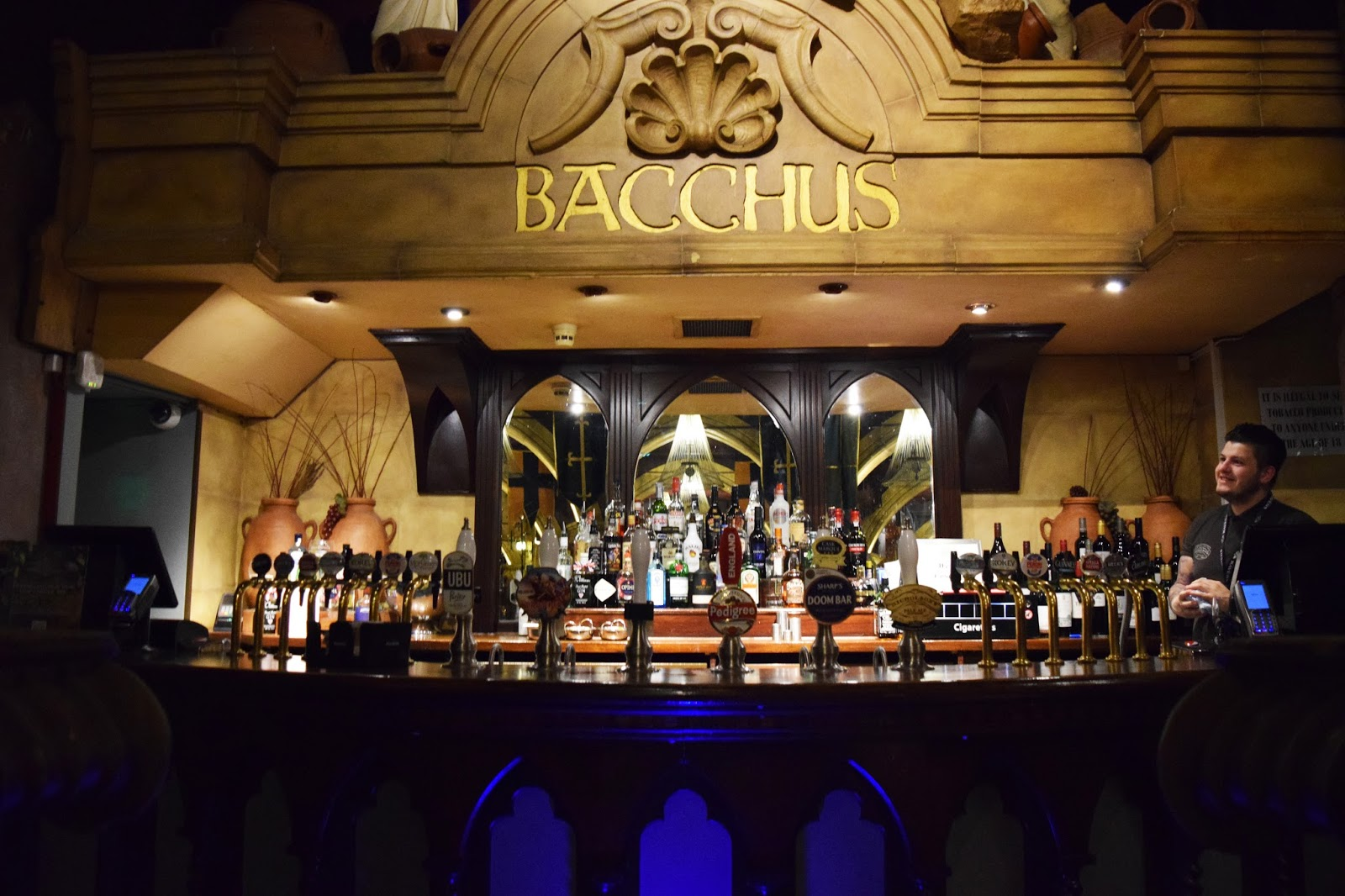 Bacchus bar birmingham gracebee for Food bar in birmingham al