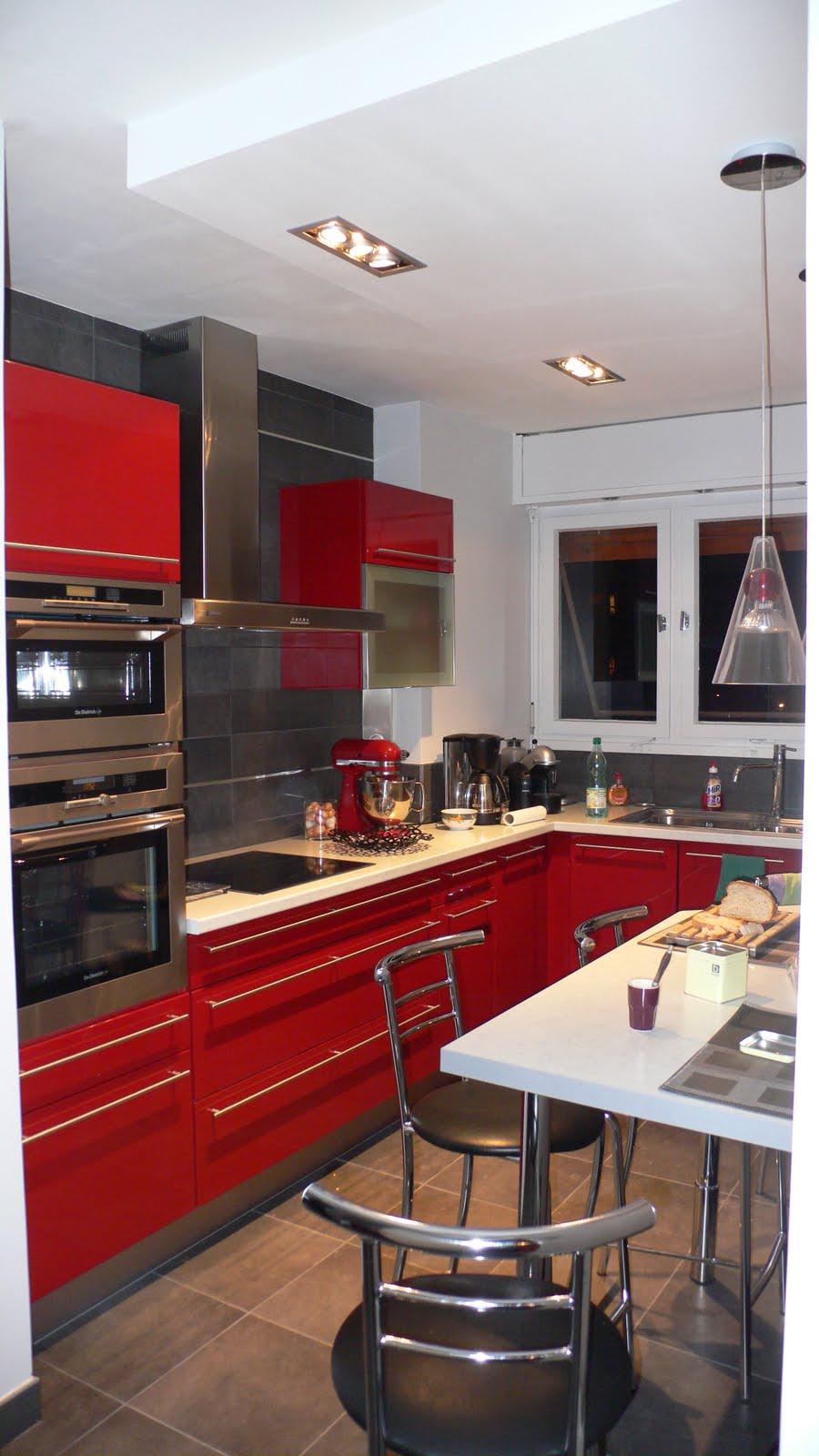 Miltech cuisines for Cuisine incorporee rouge