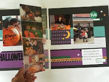 October Scrapbook CLub