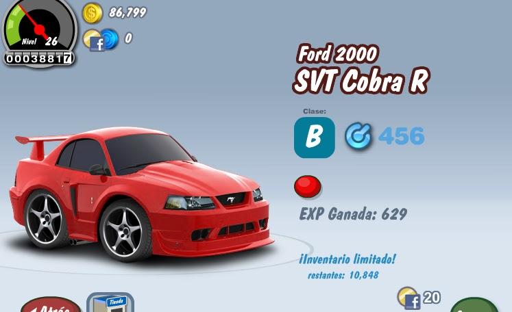 Hola, apareció junto con otros autos este Ford 2000 SVT Cobra R