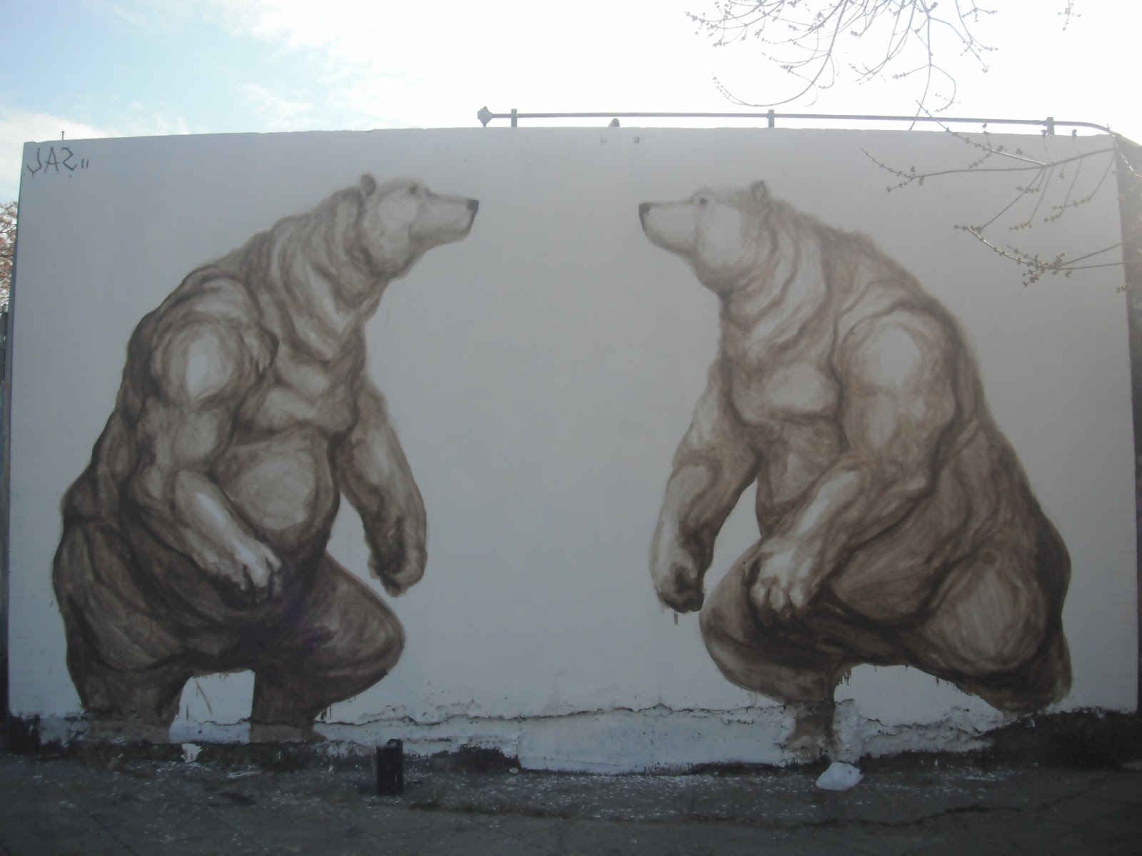 Street art in Buenos Aires, Argentina